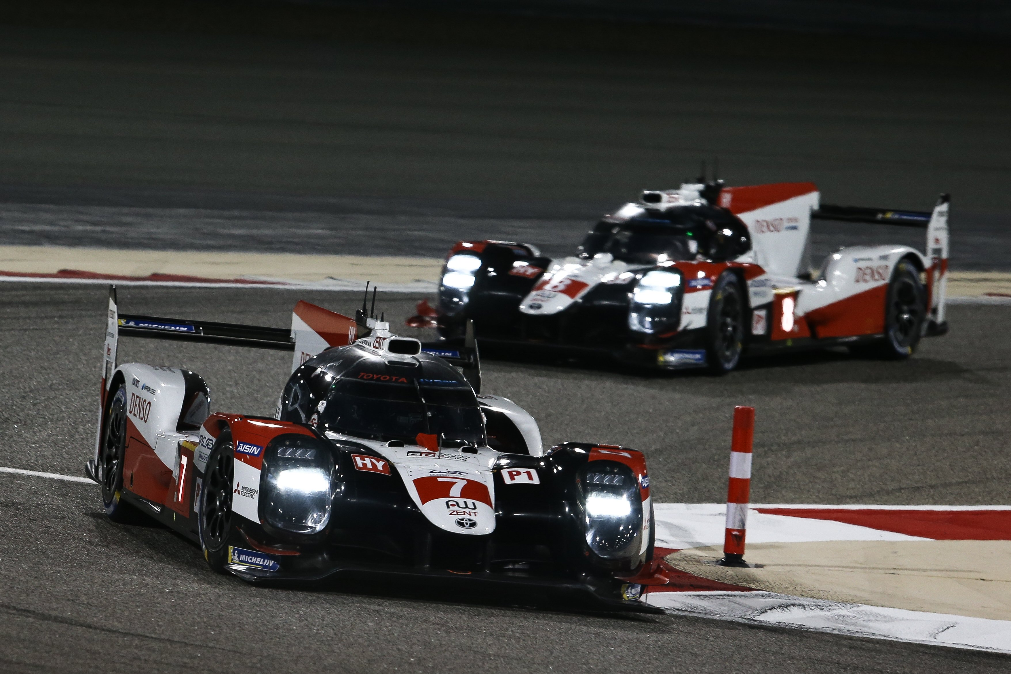 Bahrain 8h: Toyota take surprise 1-2 as lap one drama decides overall win
